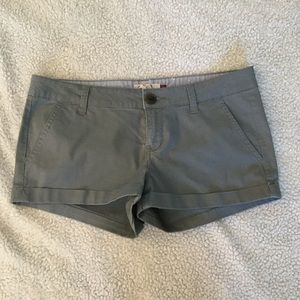 Pants - New gray cuffed shorts